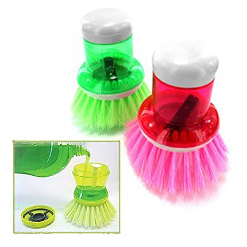 Soap Dispenser Palm Brush