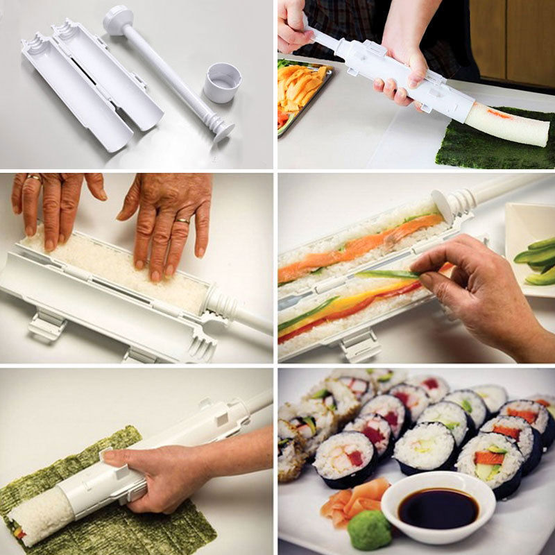 Sushi Maker Tube Roller Sushi Bazooka - Life Changing Products