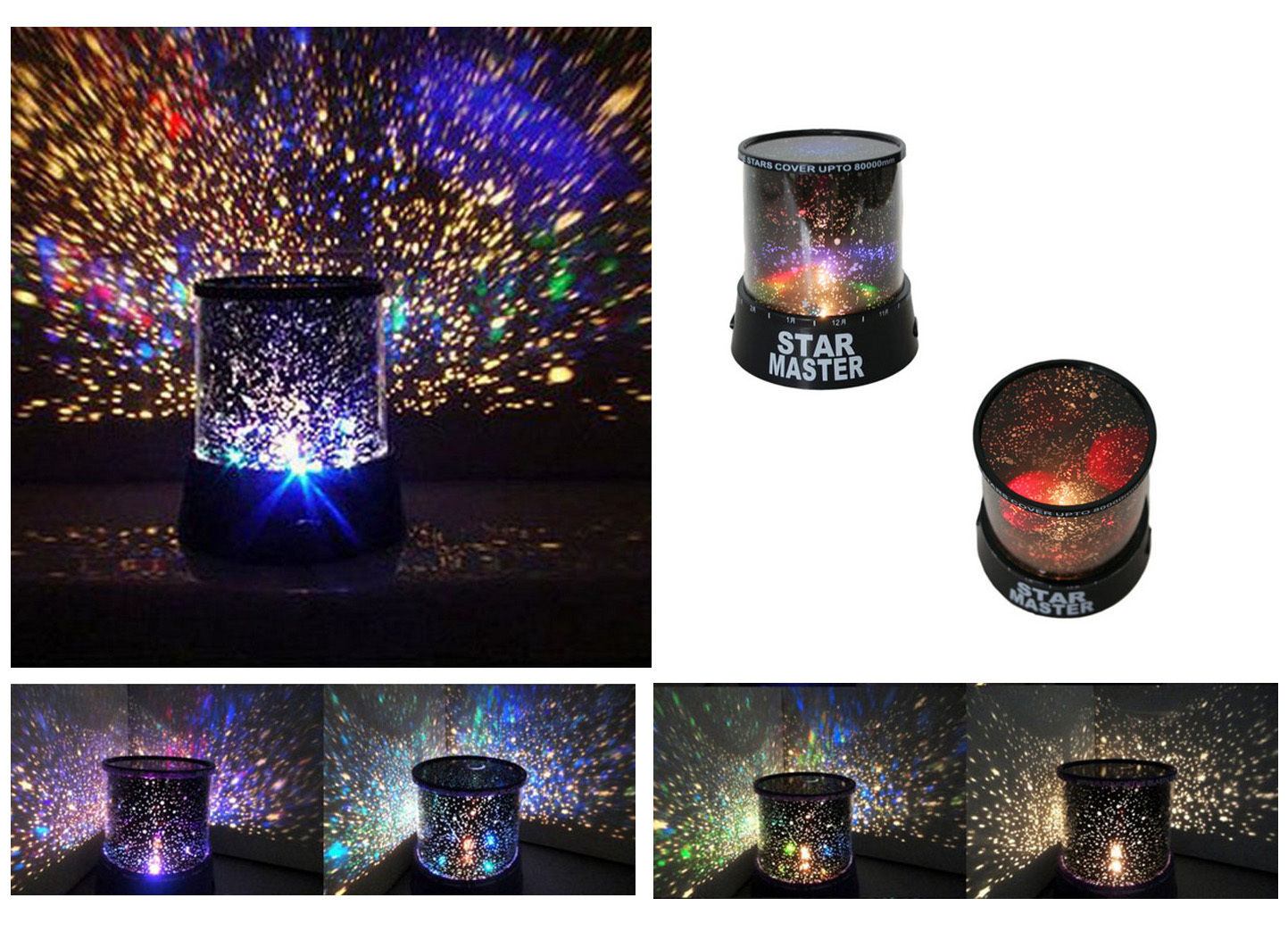 Kids Led Night Star Light Projector Life Changing Products