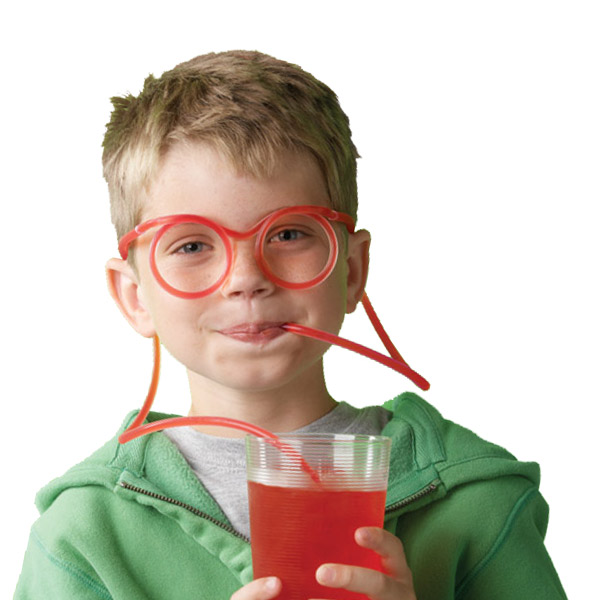 Crazy Straw Glasses