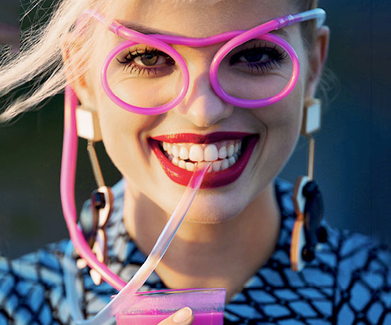 novelty straw glasses changing products