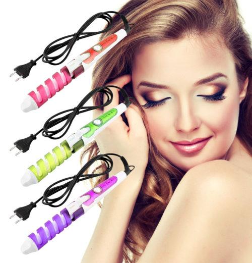 Spiral Curls-Electric Curler