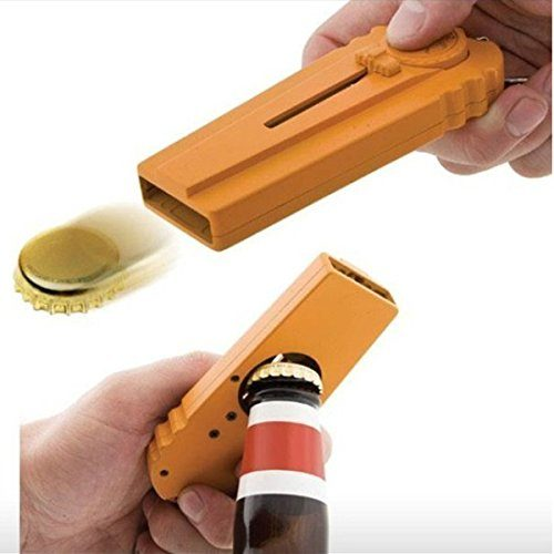 Bottle Opener-Cap Launcher