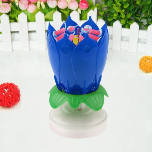 Musical Rotating Candle