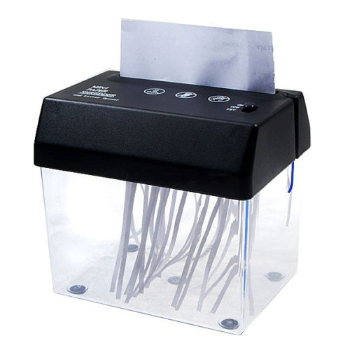 Compact Paper Shredder