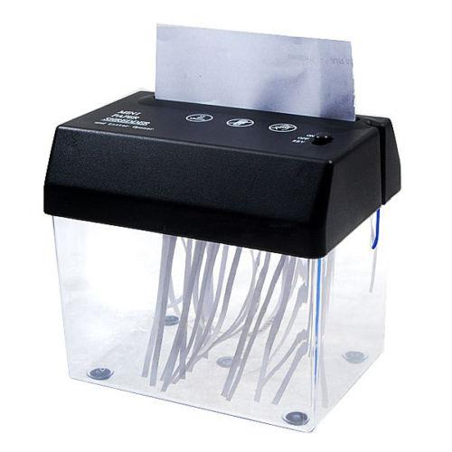 Compact Paper Shredder