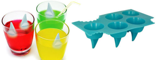 Novely Ice Tray-Shark Fin Ice Tray