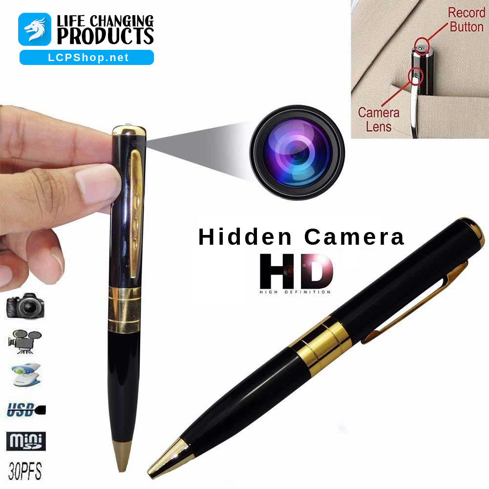 Spy Cam - Mini Pen Camera
