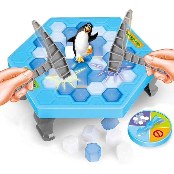 Family Fun-Save The Penguin Game
