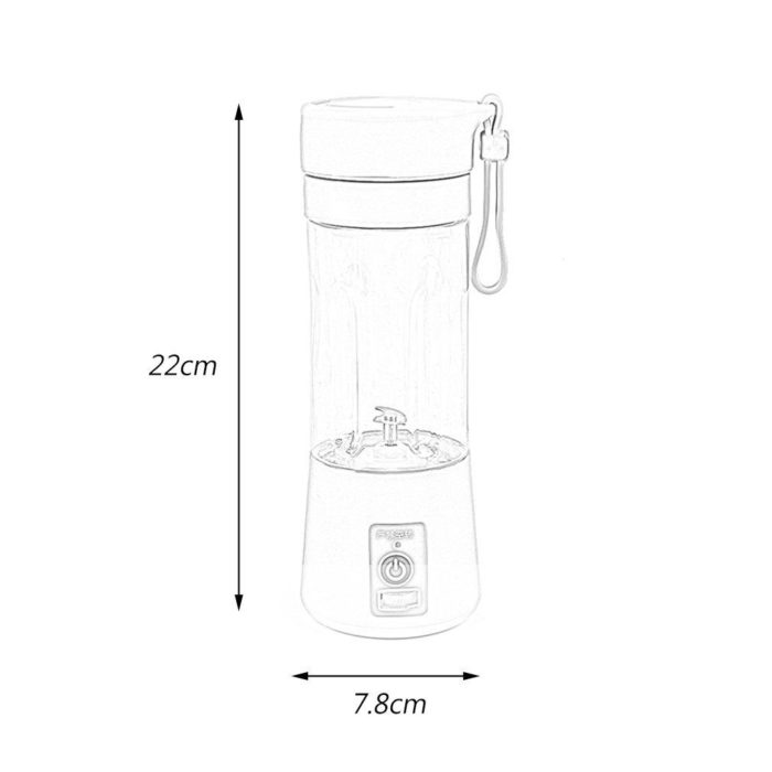 USB Rechargeable Portable Electric Juice Blender