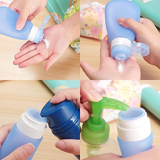 Travel Containers-Reusable Travel Bottles
