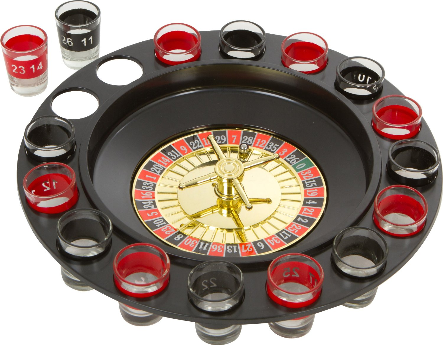 glass shot roulette adult drinking game life changing products. Black Bedroom Furniture Sets. Home Design Ideas