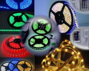 RGB LED Lights-Colour Strip Lights