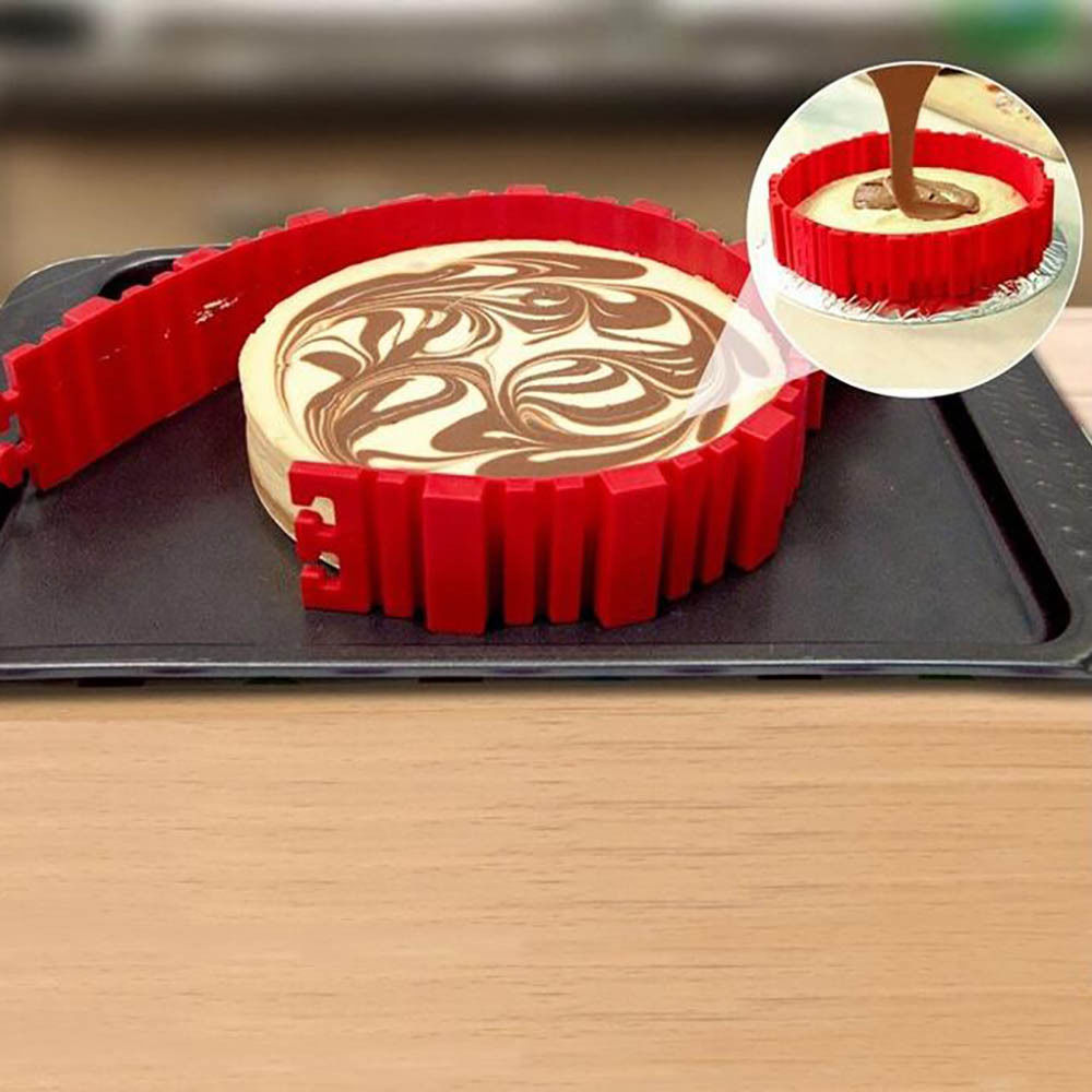 Flexible Silicone Cake Molds Set Of 4 Life Changing