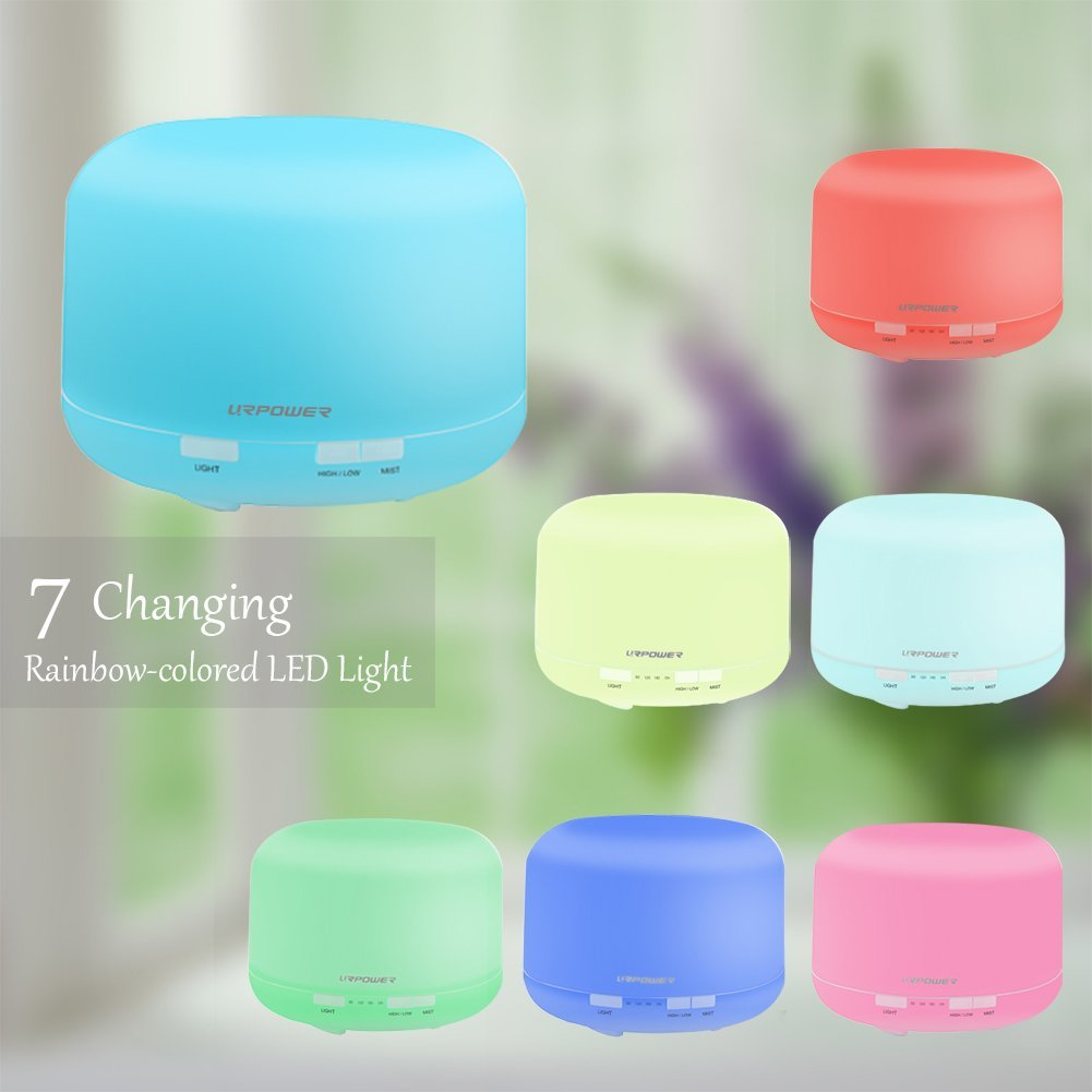 Humidifier 3-in-1 LED with Aromatherapy Oil Diffuser.