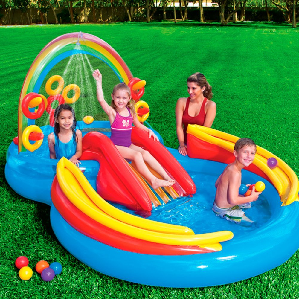 Inflatable play center kids play area portable play area - Family pool aldi ...