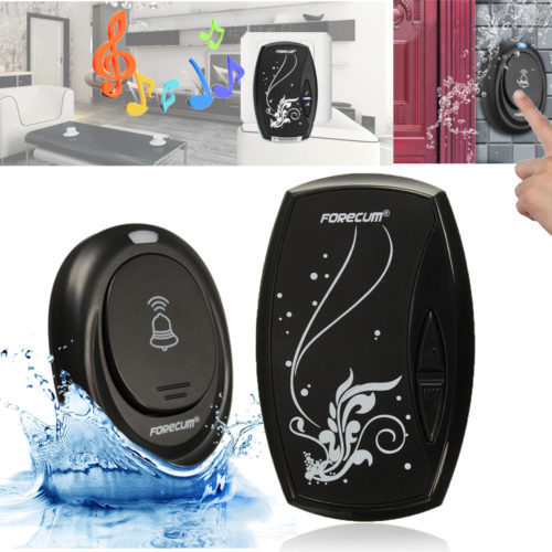 Waterproof Wireless Doorbell-36 Tune