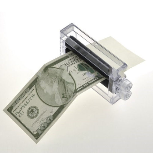 Magic Trick Money Printing Machine