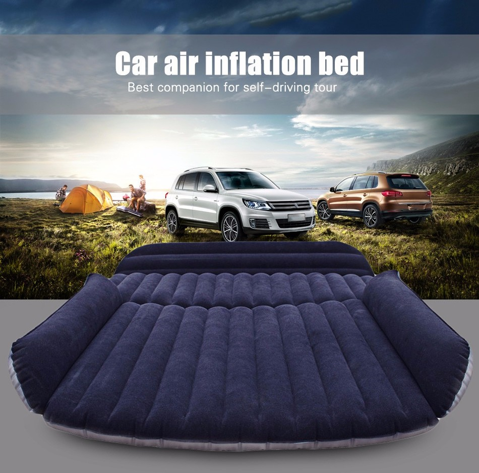 Inflatable Car Air Mattress Air Bed Life Changing Products
