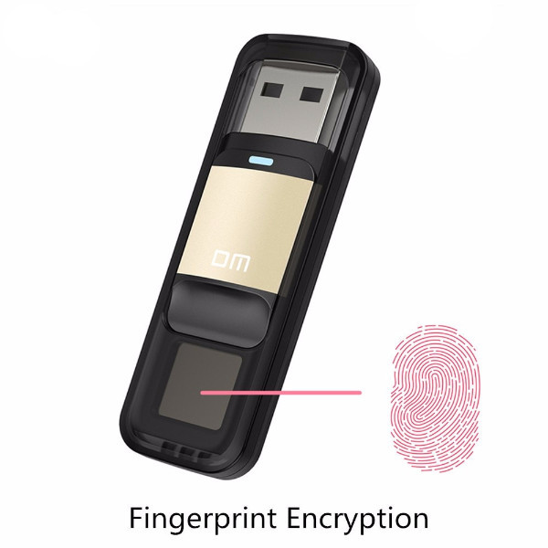 Fingerprint Encrypted USB
