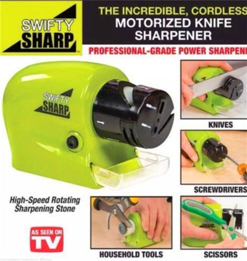 Motorized Knife Blade Sharpener