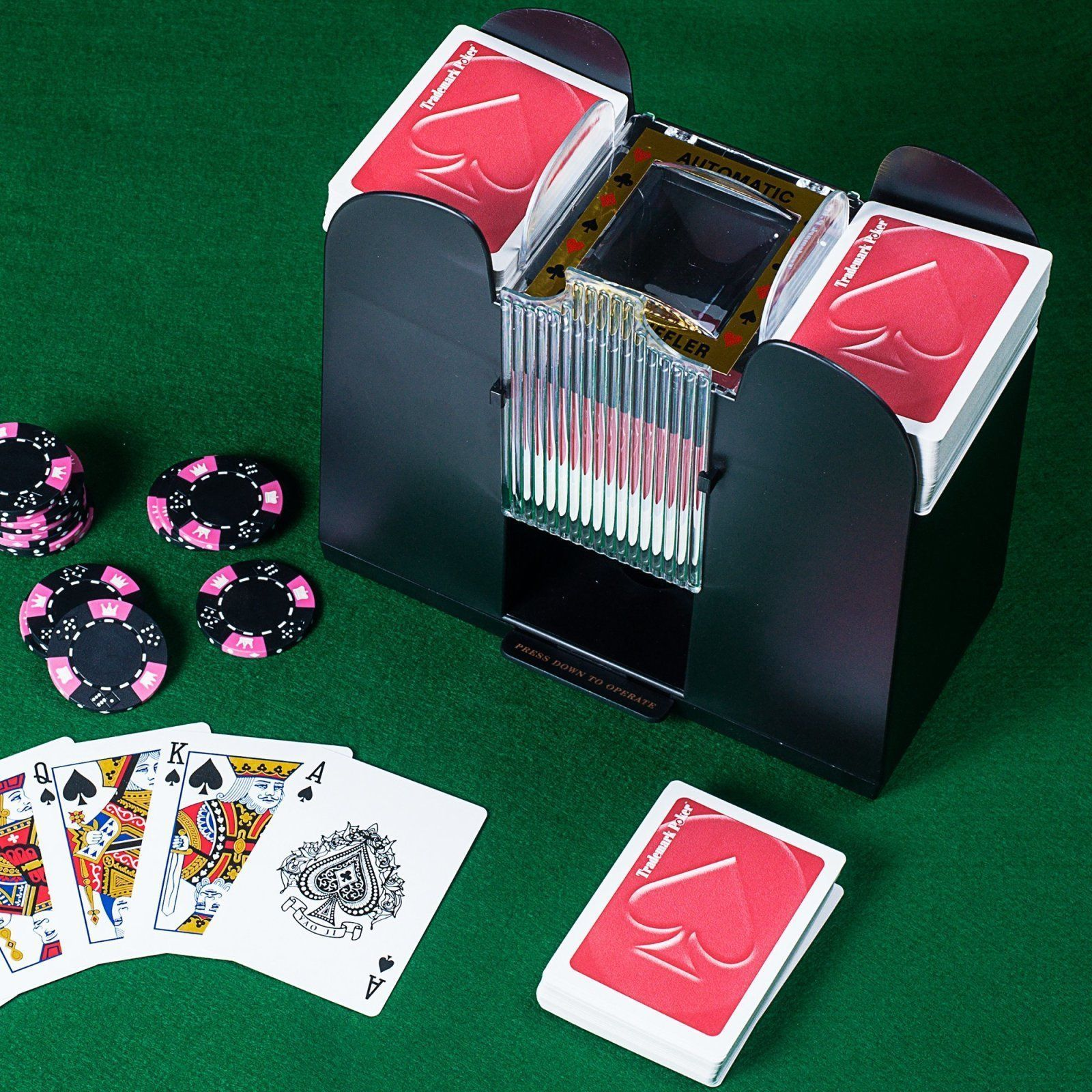 Professional Automatic Card Shuffler