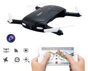 Pocket Selfie Drone Quadcopter with Camera Phone Control