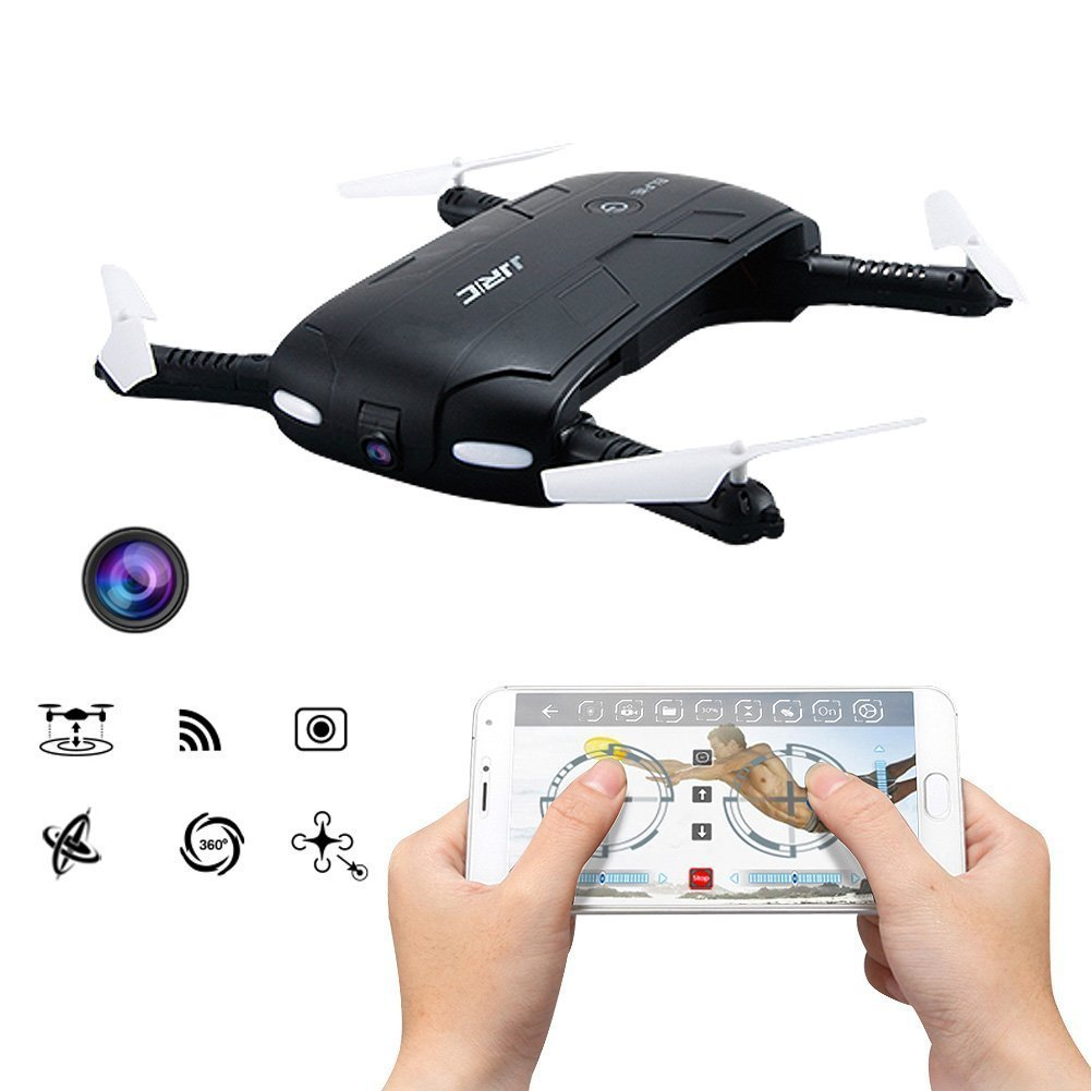 Pocket Selfie Drone Quadcopter with Camera Phone Control