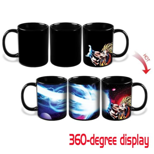 Goku Dragon Ball Heat Color Changing Kamehameha Coffee Mug