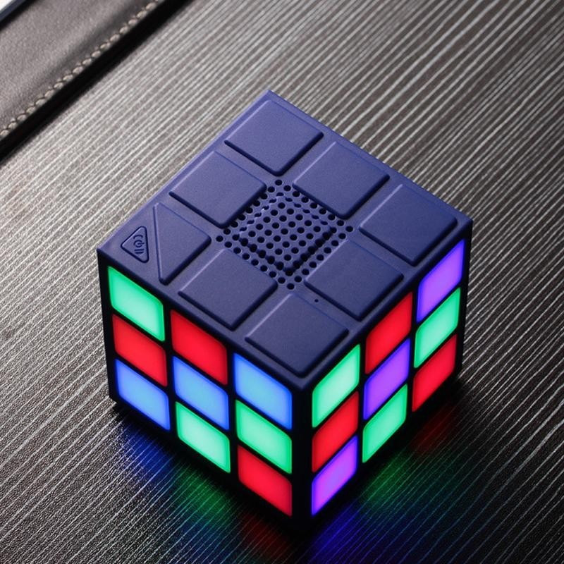 LED Rubix Cube Bluetooth Speaker