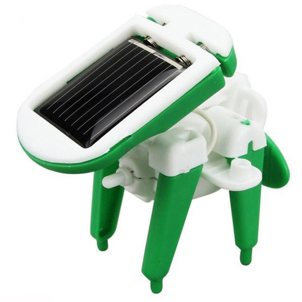 6-in-1 Educational Solar Powered Robot