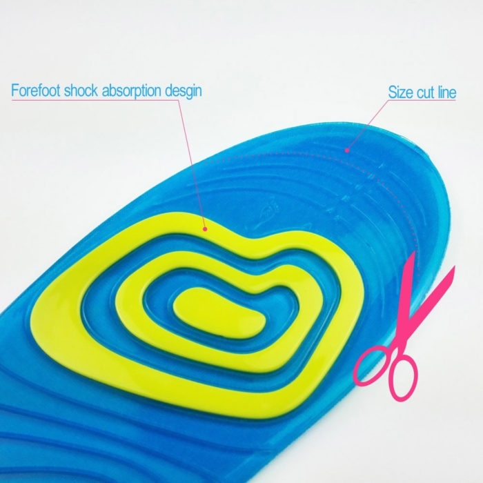 Shock Absorbent Insole