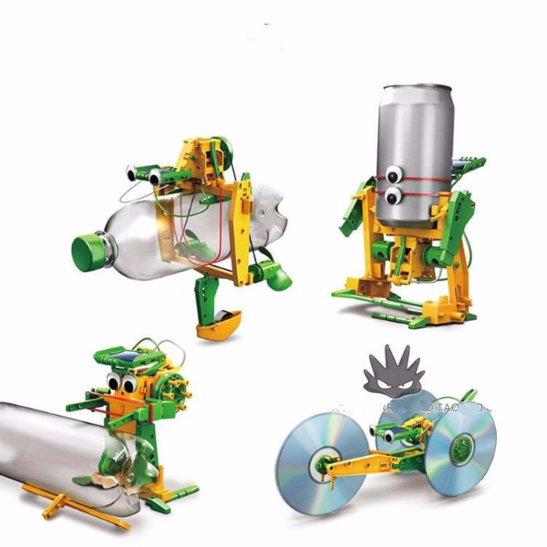 Solar Powered DIY Robot Kit