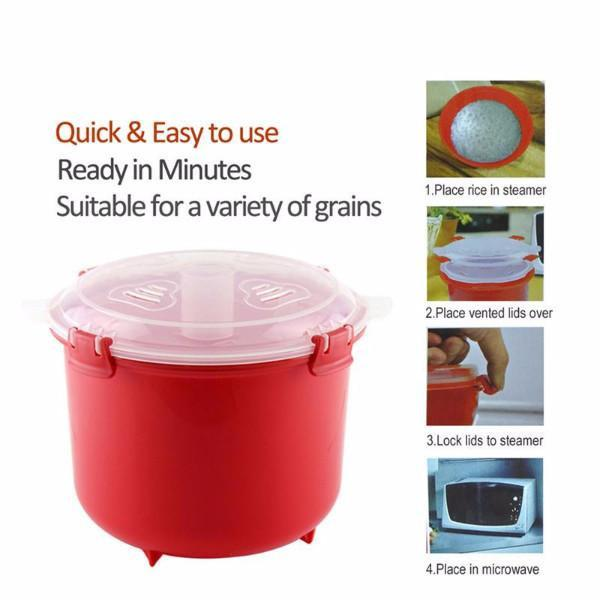 Microwave Rice Cooker Microwave Rice Steamer Microwave Cookers