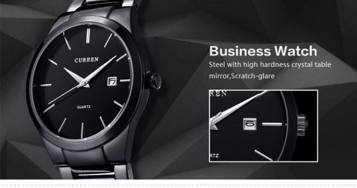 Curren Quartz Wristwatch