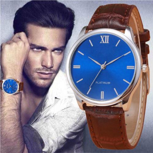 Plamtinum watch