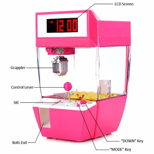 Novelty Claw Game Alarm Clock