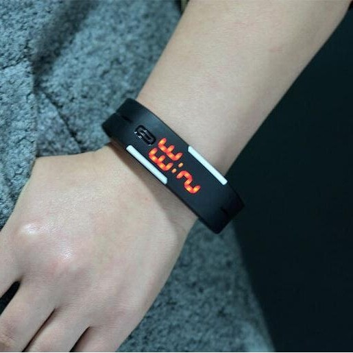 Digital LED Touch Screen Watch