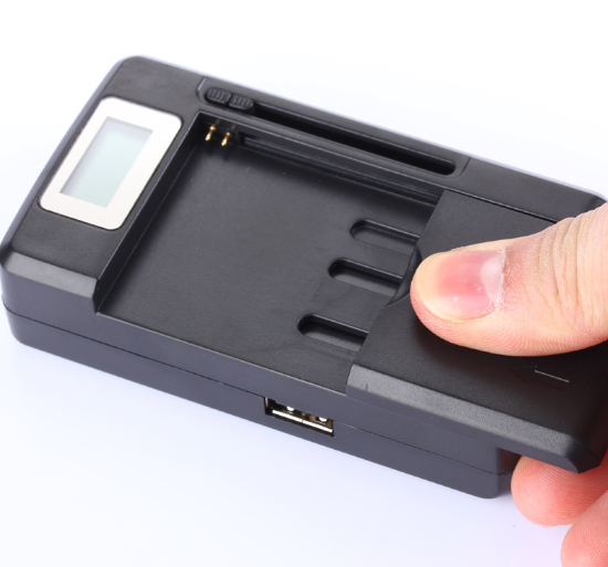 2-in-1 Universal Cellphone Battery Charger