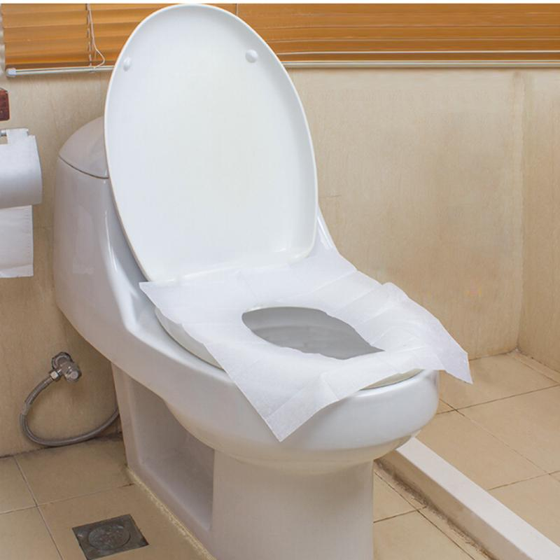 100pcs Flush Able Toilet Seat Covers Life Changing Products