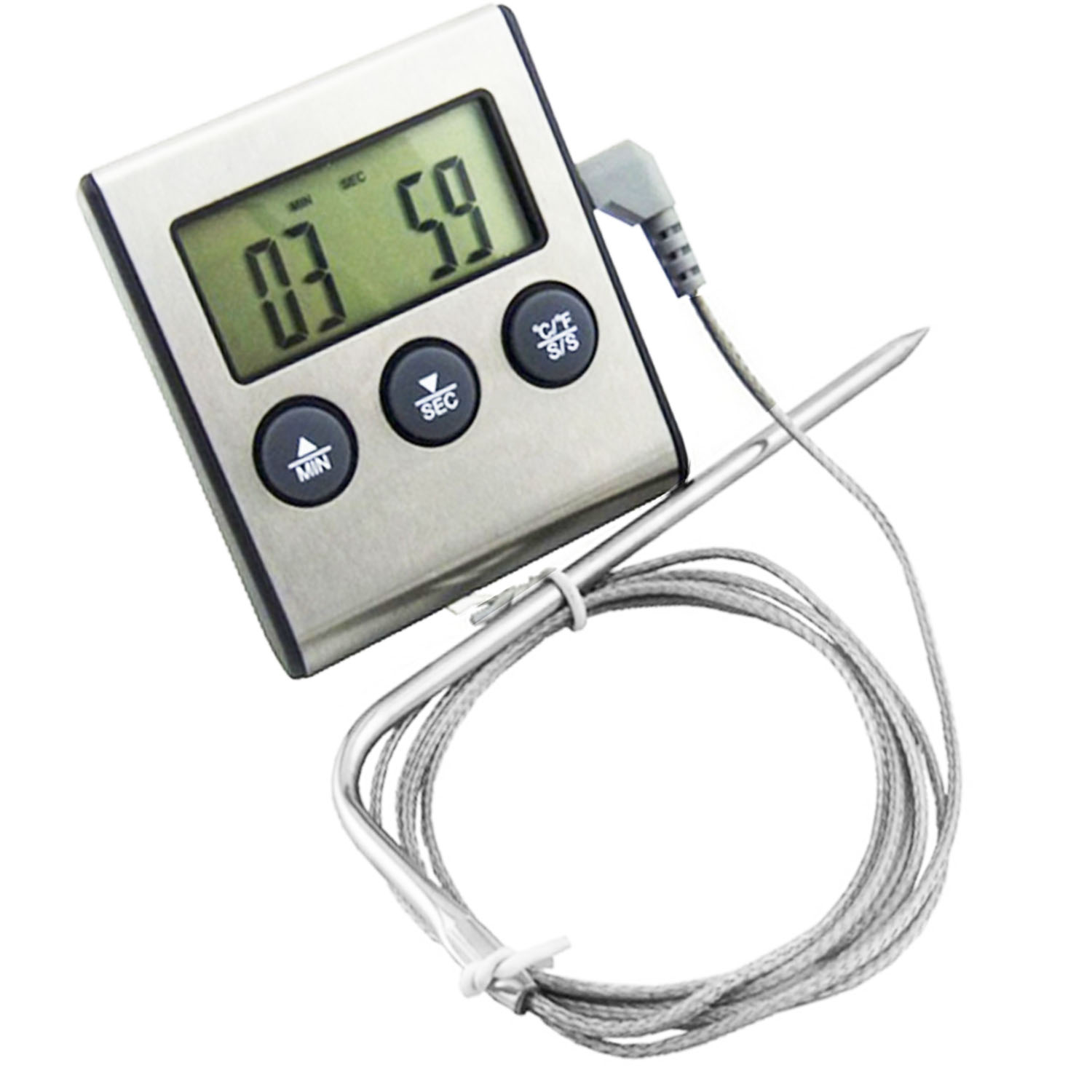 Thermometer with Detachable Probe
