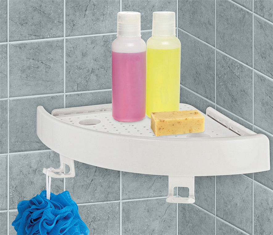 Snap Kitchen Hours: Snap On Corner Shelf Organizer Shower Caddy Corner Shelf