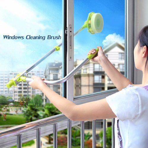Retractable Multifunctional Window Cleaner