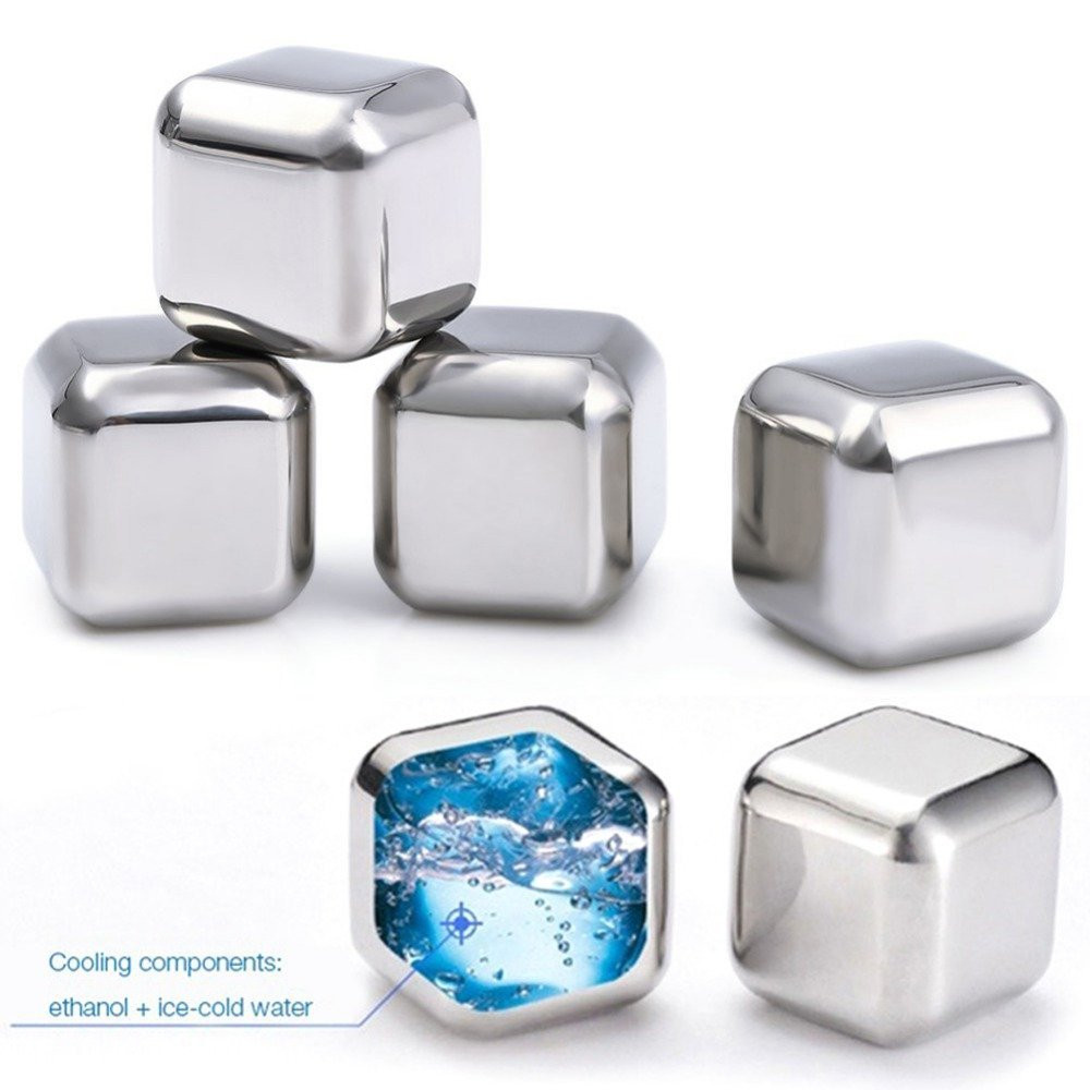 Reusable Stainless Steel Ice Blocks