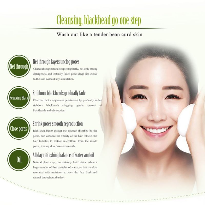 Bamboo Charcoal Soap Treatment Skin Care