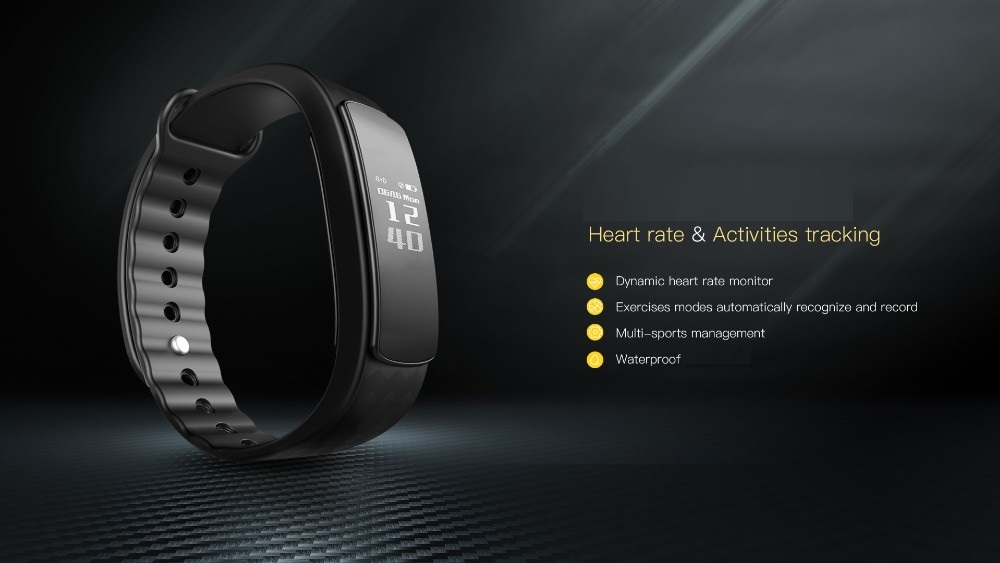 Features of Waterproof Fitness Tracker Wristband