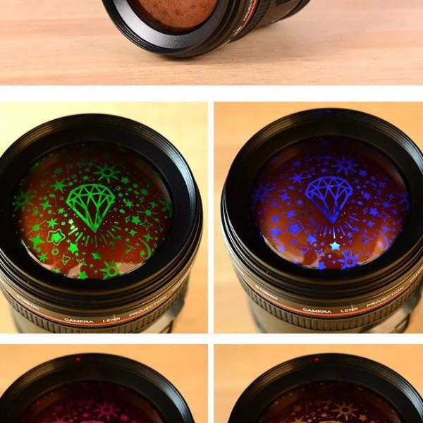 Camera Lens Alarm Clock