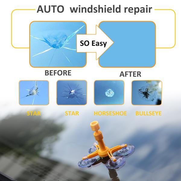 Car Windscreen Repair Kit