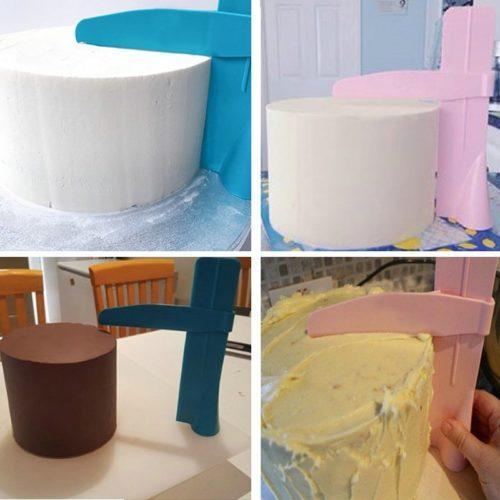 Height Adjustble Cake Scraper Smoother