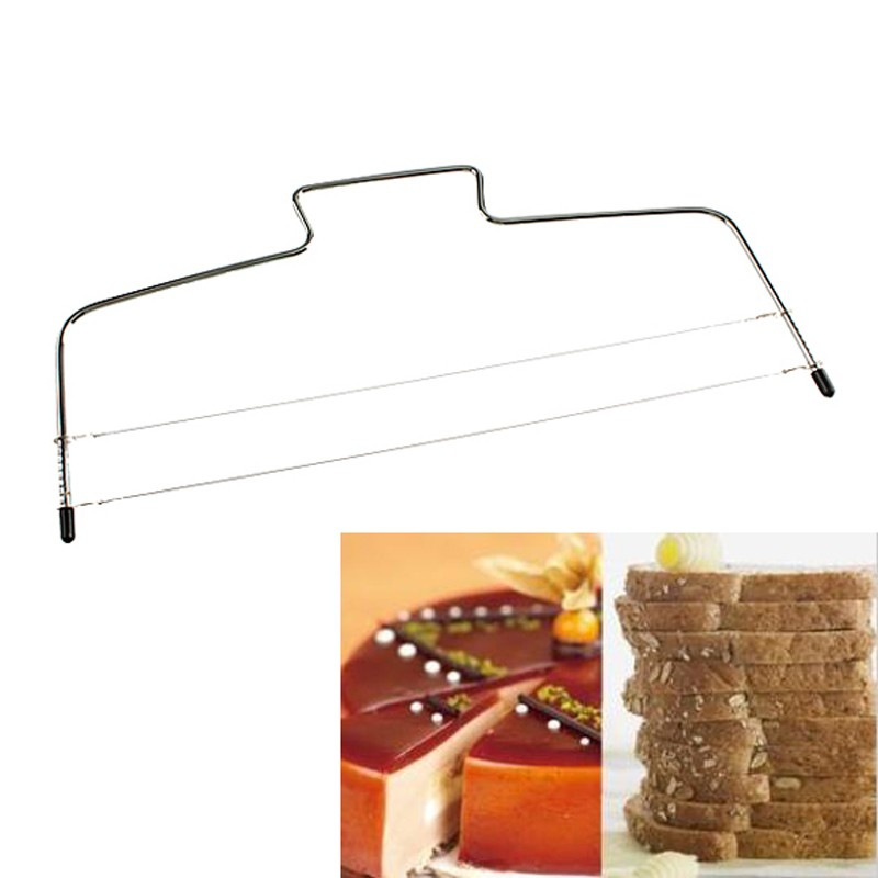 Stainless Steel Adjustable Wire Cake Slicer Leveler